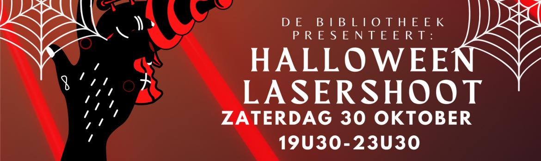 Halloween lasershoot banner